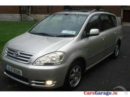 toyota avensis verso verso sol 7 seater nct tax car. Black Bedroom Furniture Sets. Home Design Ideas