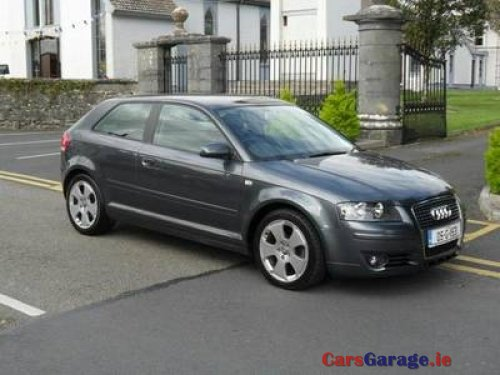 audi a3 1 9 tdi sport 3dr 105 bhp car sales room. Black Bedroom Furniture Sets. Home Design Ideas