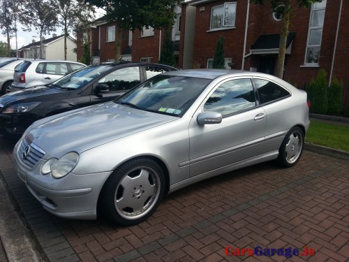 mercedes c220 coupe sport 2002 price dropped car sales room. Black Bedroom Furniture Sets. Home Design Ideas