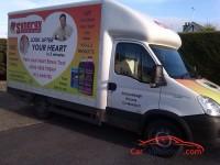 Modified Mobile Selling Van