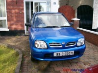 1999 Nissan Micra GX  1 Lady Owner