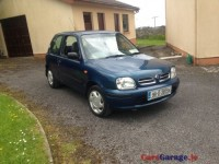 NIssan Micra 1 year Tax + NCT