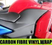 Carbon Fibre Vinyl 1520 x 1000mm Roll